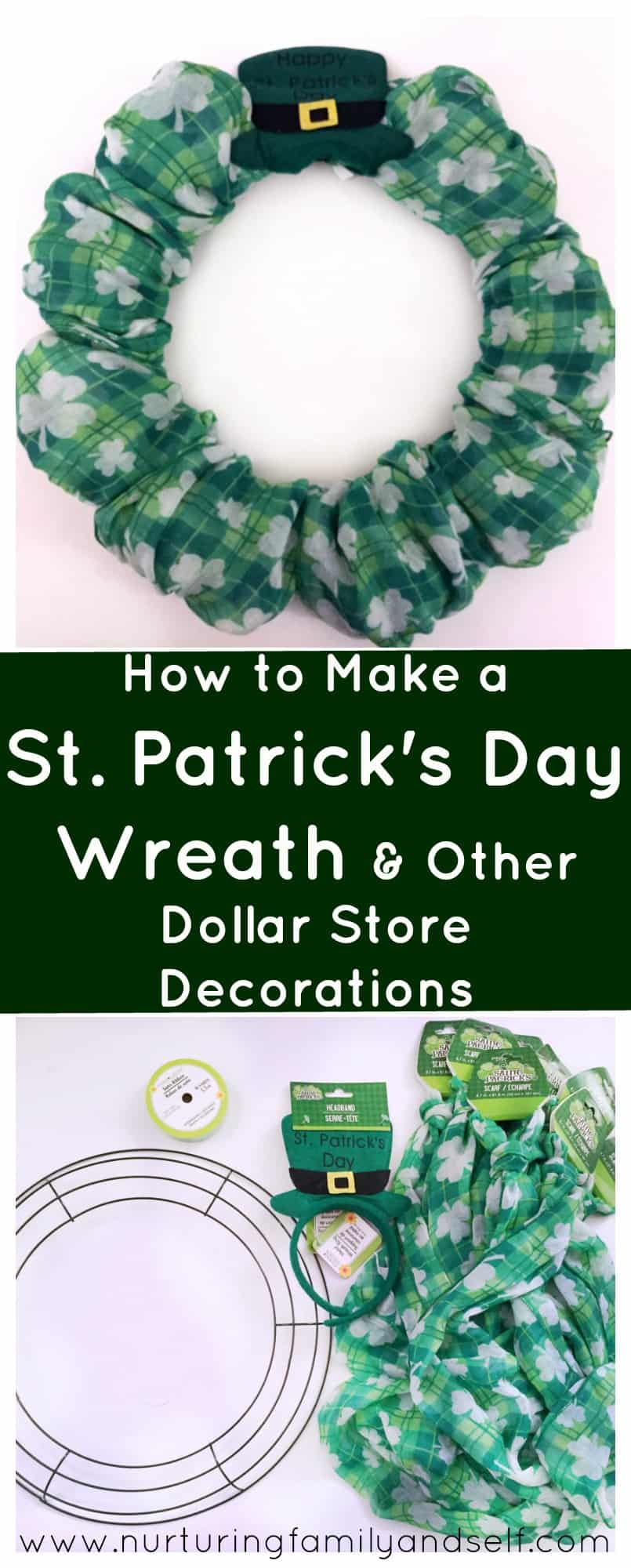 St Pats Day Dollar Store Decorations