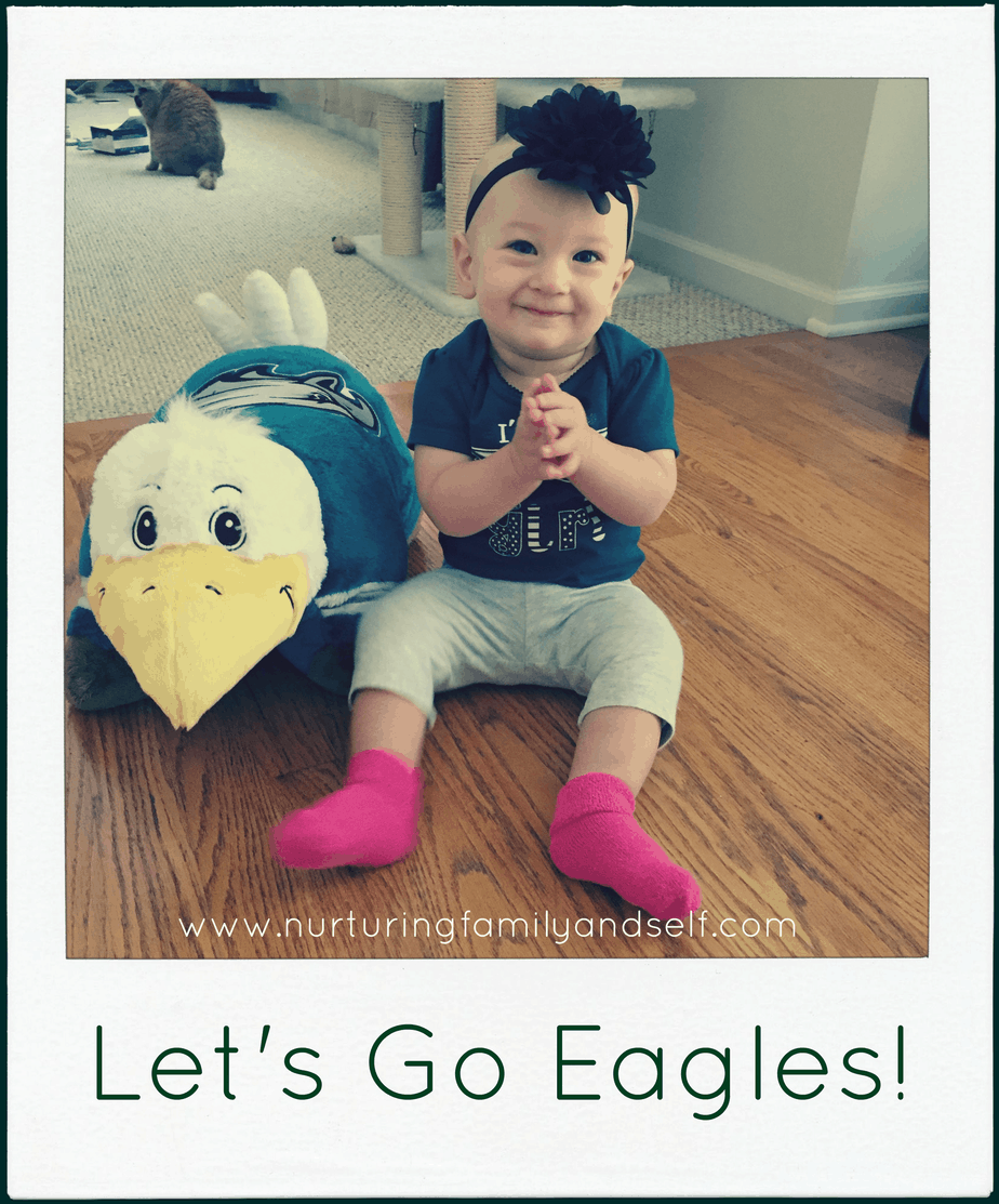 Cheering On the Eagles