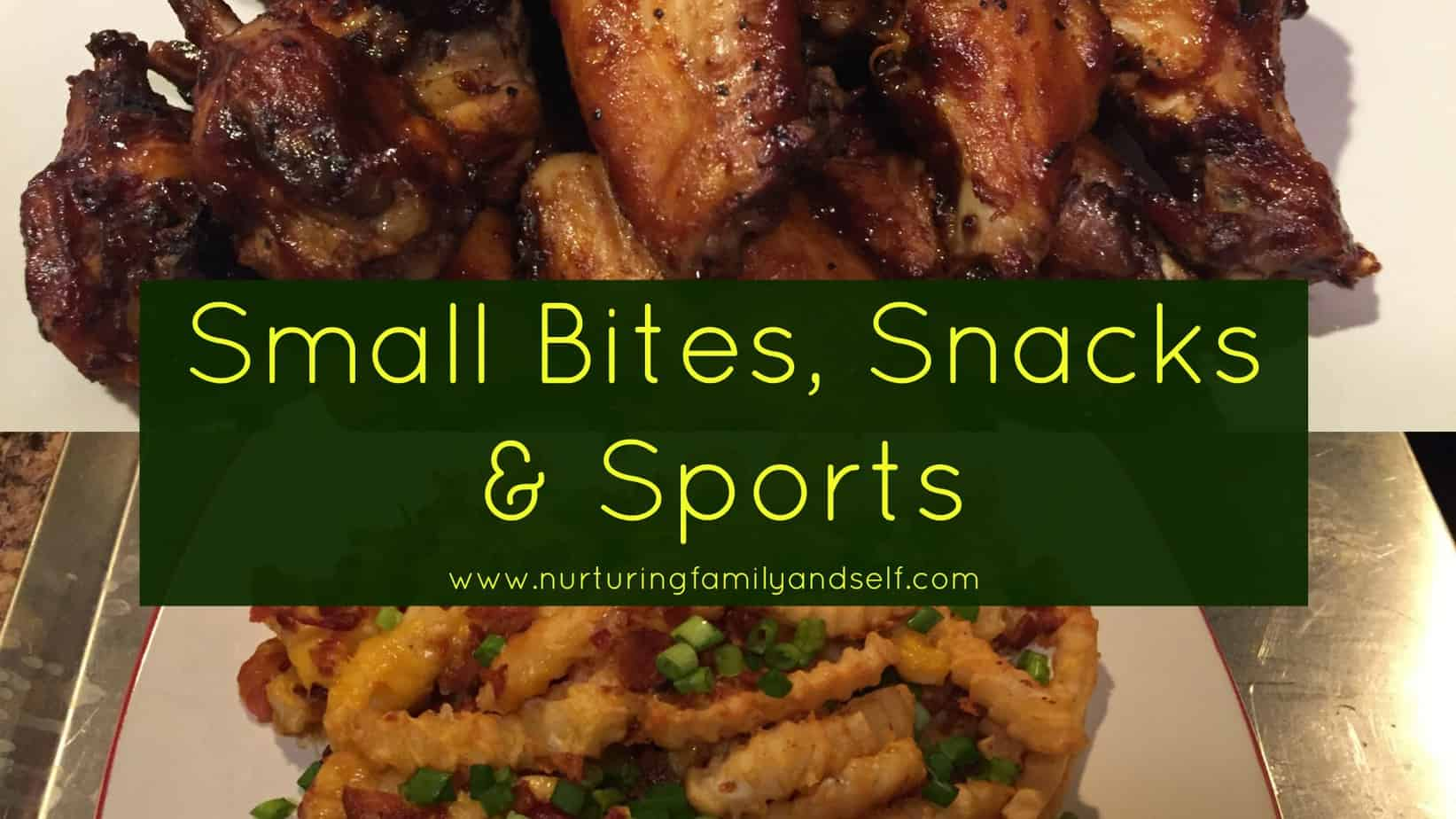 Small Bites-Snacks-Sports Featured Image